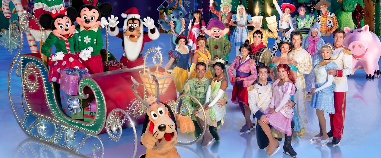 Ook op het ijs is Disney betoverend
