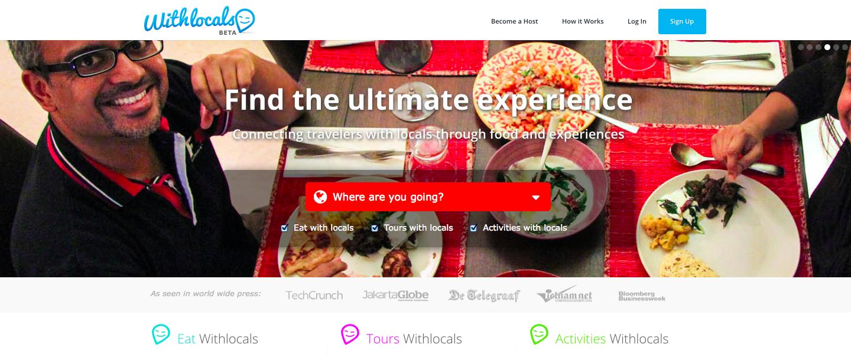 Bij Withlocals.com boek je eten, rond-leidingen en activiteiten bij locals in Azië