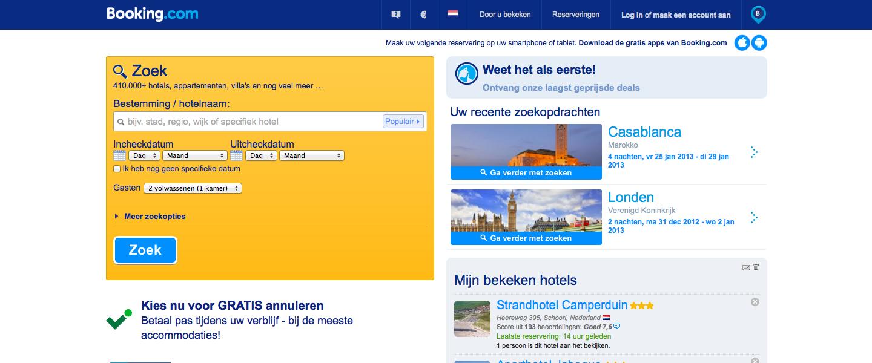 Booking.com het beste in het oplossen van klachten