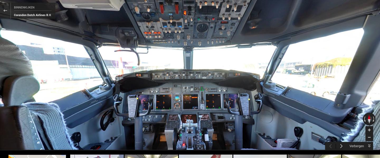 Kijk mee in de cockpit van een Boeing 737/800
