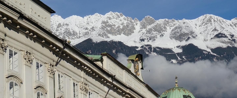 Innsbruck stad om te flaneren, cultuur, bergschoenen en Olympische winterspelen