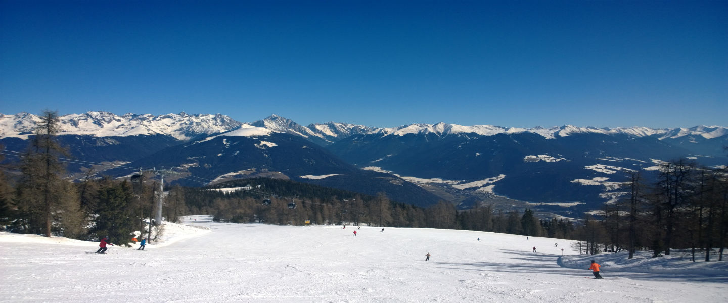 Wintersport in Zuid-Tirol