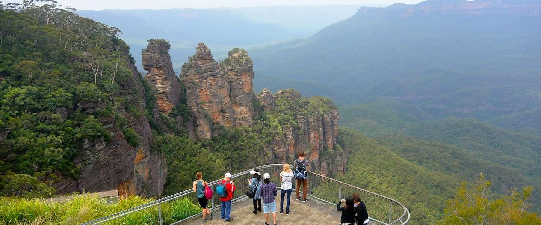 Twee uur vanaf Sydney: The Blue Mountains
