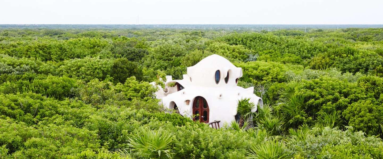 Deze magische boomhut in de jungle van Mexico moet je gezien hebben
