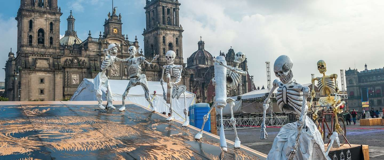 Mexico viert Día de los Muertos: de dag van de doden