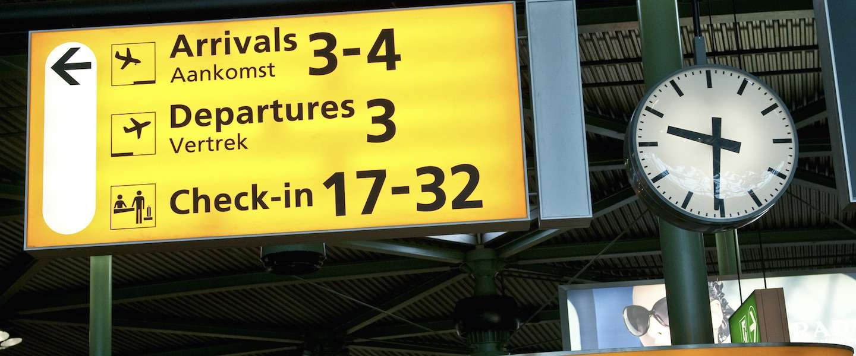 Planning op Schiphol: welke vliegtuigmaatschappij hoort bij welke gate?