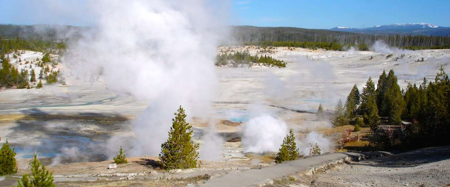 Must see in de VS: geisers in Yellowstone National Park