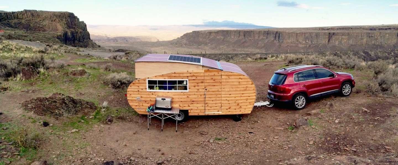 Met deze coole caravan wil iedereen een roadtrip maken!