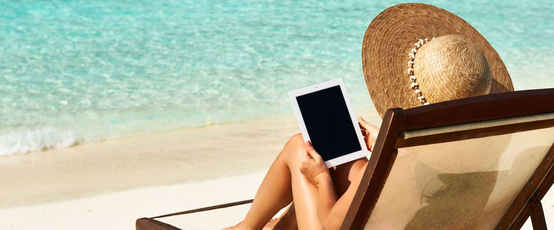 Boeken lezen in de zomervakantie met de gratis VakantieBieb-app
