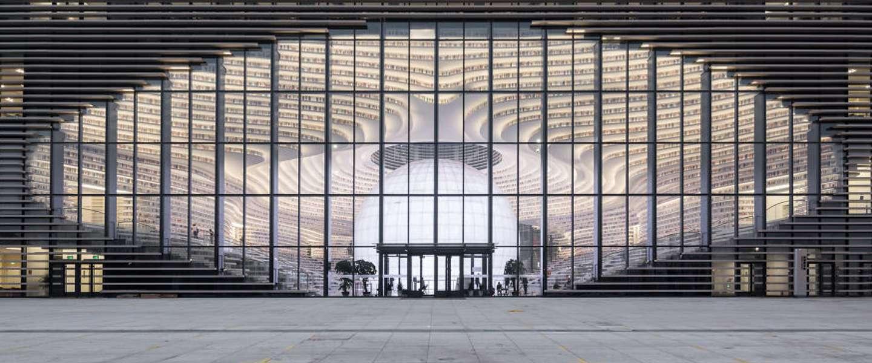China heeft nu de mooiste bibliotheek ter wereld