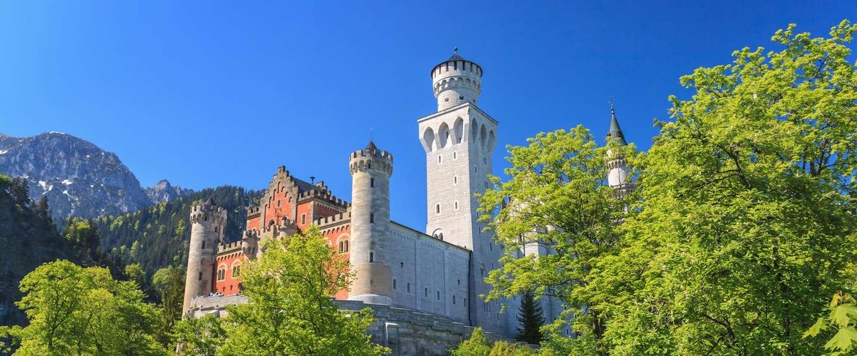 Dromen in sprookjeskasteel Neuschwanstein in Füssen