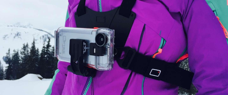 Je iPhone wordt een actiecamera met de Optrix by Body Glove