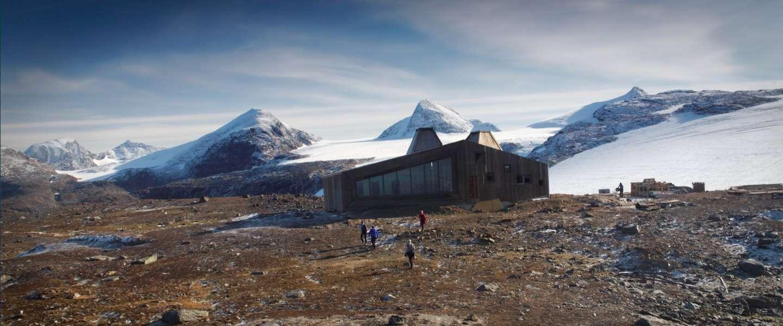 Bijzonder overnachten in berghut Rabothytta in Noorwegen