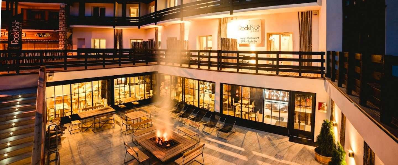 Hip hotel in Serre Chevalier: Le Rock Noir