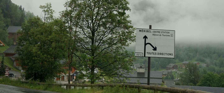 Les Menuires in the cloud, Savoyaards diner en jazz in Méribel