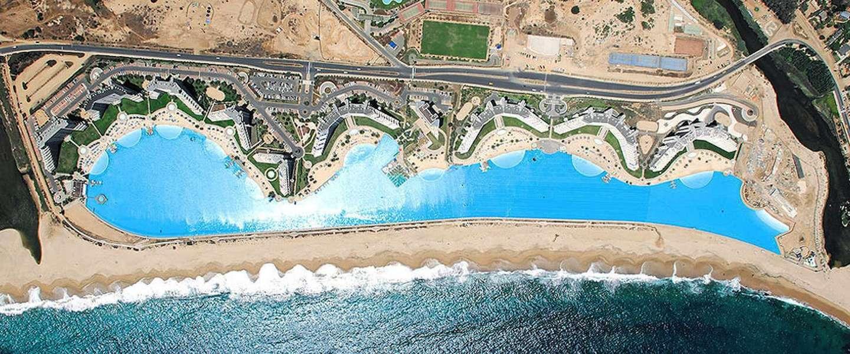 Het grootste zwembad ter wereld is meer dan een kilometer lang - Fotos van het zwembad ...