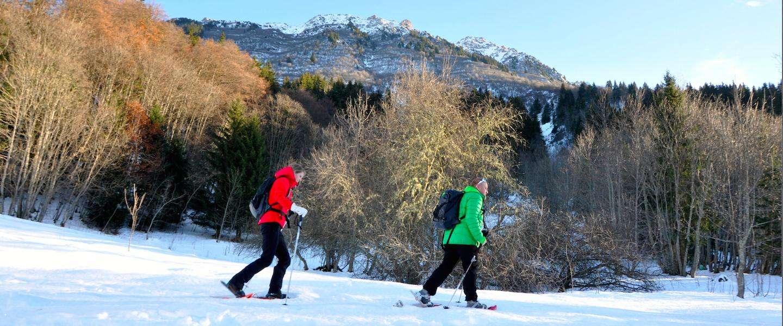 Sneeuwschoenwandelen in Valmorel