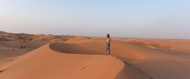Een sprookjesnacht in Wahiba Sands, de wondere woestijn van Oman