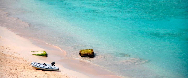 Strandlaken met handige opbergvakjes