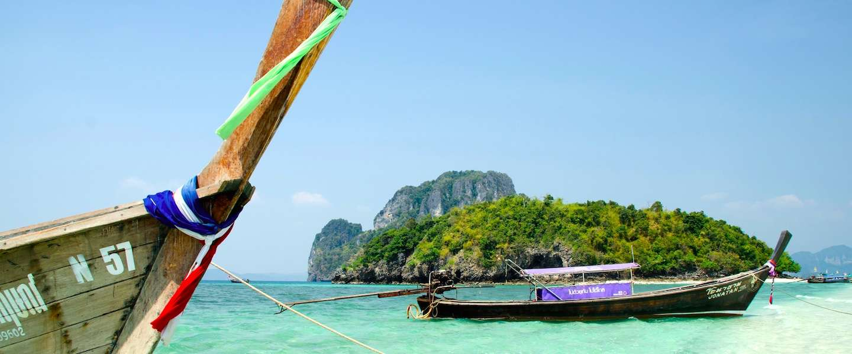 Het beroemdste strand van Thailand: Ko Phi Phi Lee