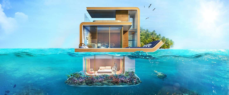 Gaaf: onderwater appartementen in Dubai