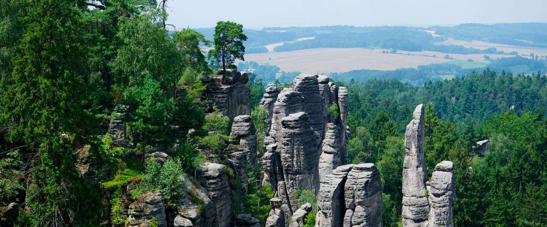 The Rock cities: klimmen en hiken in het Tsjechische paradijs