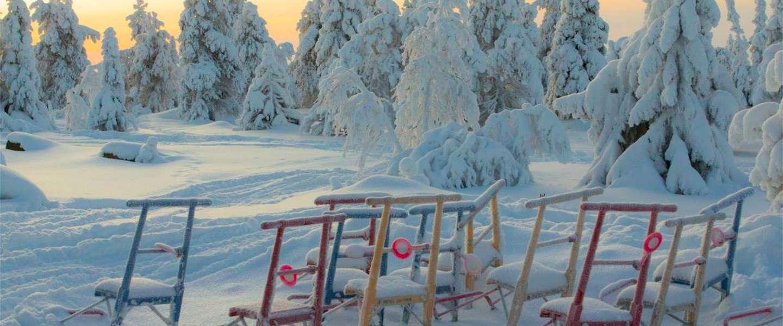 Gezond ademhalen in Fins Lapland: een van de schoonste gebieden van Europa