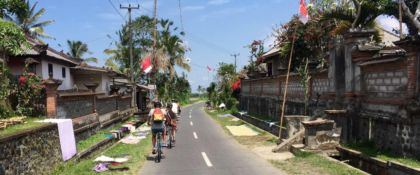 Fietsen door Ubud, het groene hart van Bali