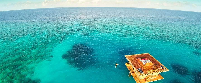 The Underwater Room: slapen onder water