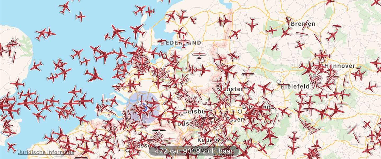 Over de hele wereld vliegtuigen spotten met de Plane Finder-app