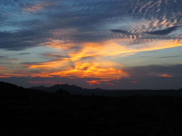 23. Zonsondergang Tabin wildlife reserve
