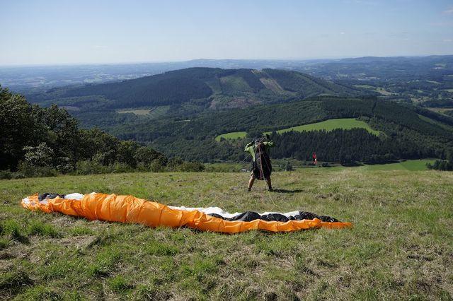 Paragliden_Treignat_Correze