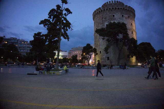thessaloniki_griekenland_avond