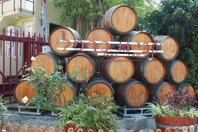 Carmel_wijnvaten_israel