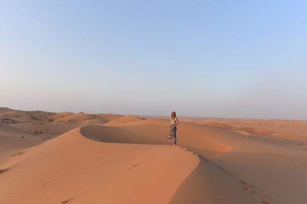 Woestijn-Wahiba-Sands