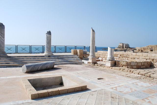 Paleis van Koning Herodes in Caesarea