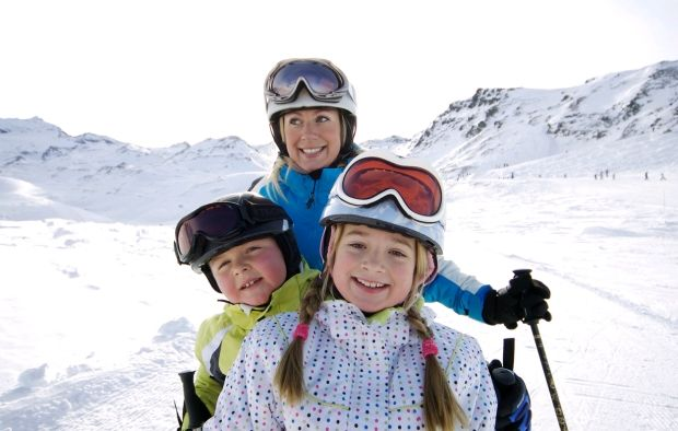 familie-wintersport-lente