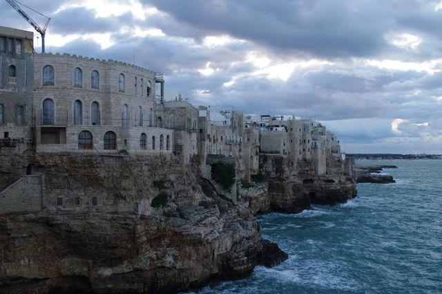 Rotspartij van Polignano a Mare