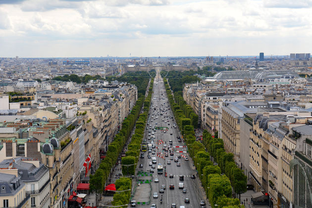 Arc-de-triomphe-view