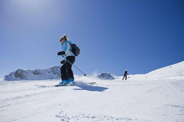 Areches-Beaufort-wintersport