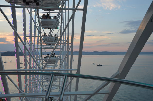 balatonmeer-zonsondergang