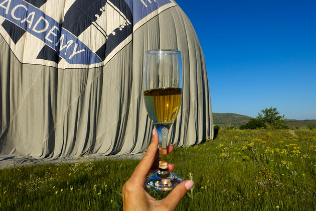 ballonvaart-Cappadocië-champagne