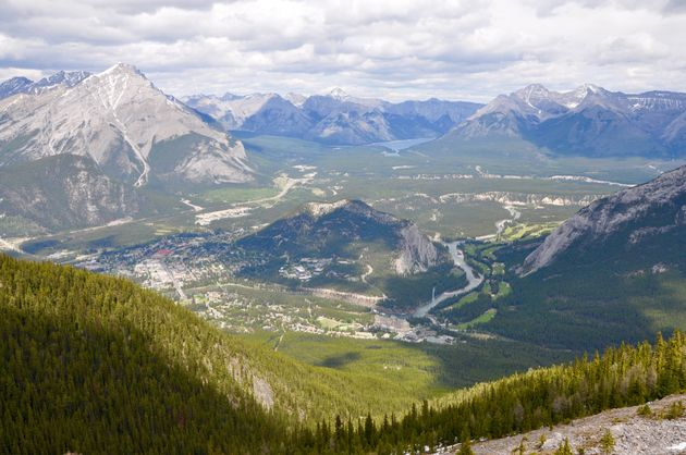 banff-sulphur-mountain-uitzicht