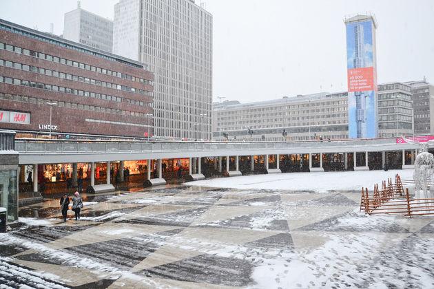 Bekende plein van Stockholm