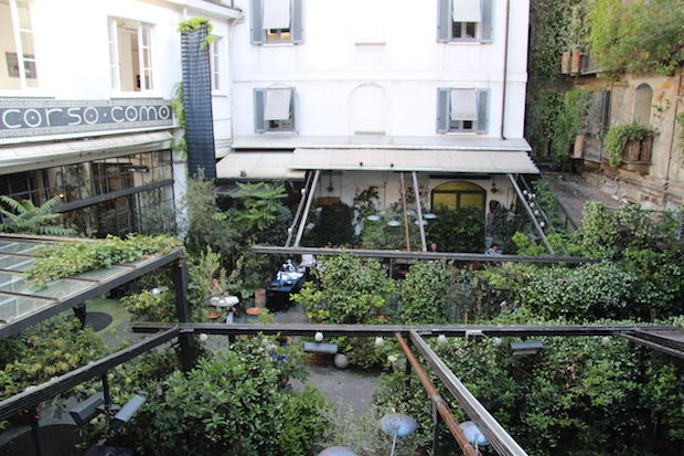 Binnenplaats Corso Como