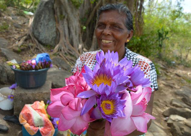 bloemen kopen voor boeddha