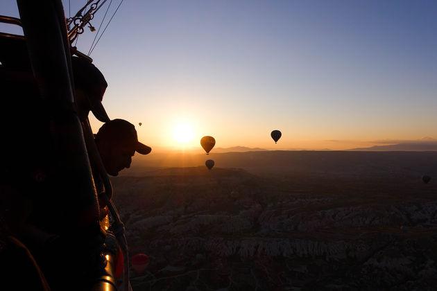 cappadocië-zonsopkomst