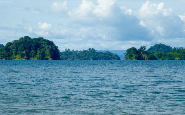 Coiba-panama-aankomst
