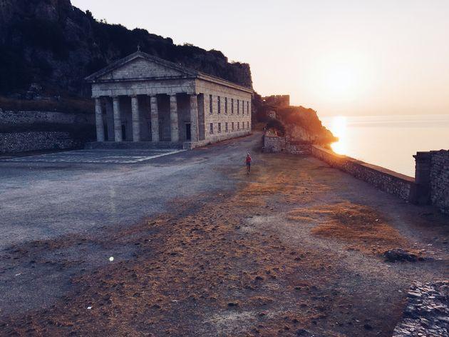 corfu-stad-hardlopen