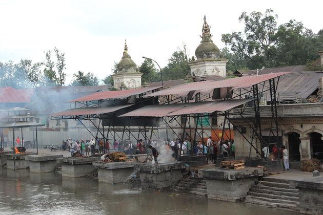 Crematieplaats Pashupatinath